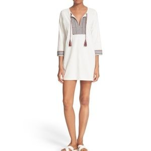 Soft Joie Rane Embroidered Tunic Dress